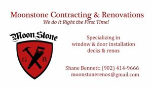 Moonstone Contracting & Renovations FREE QUOTE