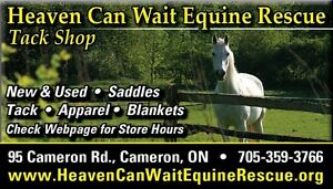 Online Auction Fundraiser Tack Riding Apparel Etc Kawartha Lakes Peterborough Area image 1