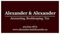 PERSONAL & CORPORATE TAX RETURNS & BOOKKEEPING - We come to you!