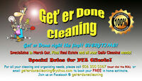 September Special .  Great deal.  Get er Done Cleaning