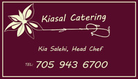 In home catering for hire