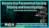 Filming for a New Paranormal Show