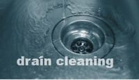 Drain cleaning. Same day service. Upfront Honest Pricing.