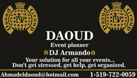 Event Planner-DJ Arabic & English