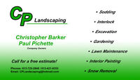 Landscaping or Interlock services at affordable price