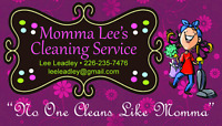 Momma Lee's House Cleaning Services
