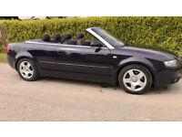 Audi A4 Cabriolet 2.4 V6 24v 2005 Only 87k FSH 2 Owners 6 Speed