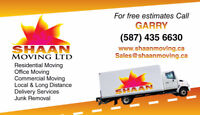 SHAAN MOVERS - Calgary Movers - $69 hourly - 5874356630