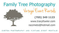Family Tree Photography and Vintage Event Rentals