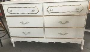 Commode 6 grands tiroirs