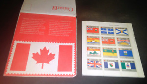 Book of Canada Day Issue 1979 Flag Stamps Mint