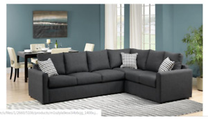 Sectional Sofa with Queen sofa bed