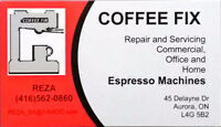 Espresso Machine repair and services (coffee machine)