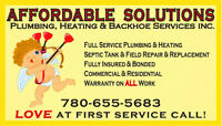 ★★★AFFORDABLE SOLUTIONS★★★To Your Plumbing & Heating Repairs★★★
