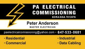 ELECTRICAL  SERVICE