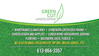 LAWN CUTTING and More with GREEN CUT LANDSCAPING