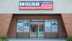 KW Cellular, cell phone,ipod,tablet repair and unlocking..
