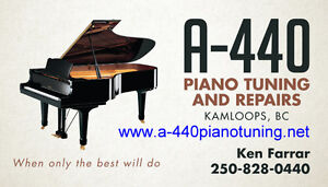 Piano Tuning and Services in Kamloops and surrounding area