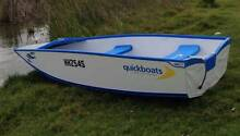Quickboat with fold away beach trailer Goolwa Alexandrina Area Preview