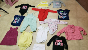 12 - 18 months girl's lot $15