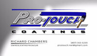 Pro Touch Coatings-Journeyman Painter