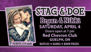 STAG and DOE TICKETS - 500 FULL COLOUR only $80!! Cambridge Kitchener Area image 4