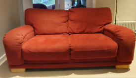 SOLD VGC smart 2 seater fabric sofa