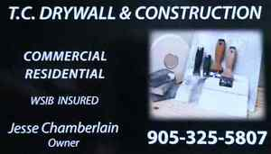 T.C. Drywall & Construction Inc.