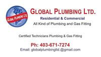 Professional Plumbers at your service 403-671-7274