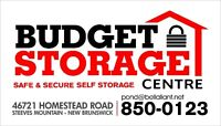 BUDGET STORAGE CENTRE - Best Service Award by Customers