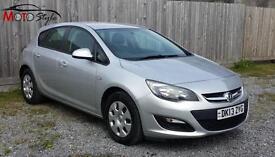 Vauxhall/Opel Astra 1.7CDTi 16v ( 110ps ) ES ecoFLEX ( s/s ) 2013 £20 Road Tax
