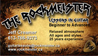 RockMeister Guitar Lessons, A Different Approach