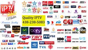 Nouveau Quality IPTV chaînes Arabes, France, Bein, US, Canada
