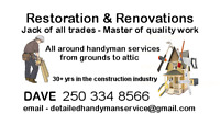 From Home Repairs & Improvements to Remodeling & Renovating