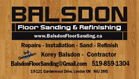 Balsdon Floor Sanding & Refinishing