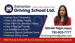 Driving Lessons - Edmonton Driving School Ltd. Edmonton Edmonton Area image 1