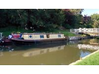 Narrow boat project. Cheap liveaboard or weekend fun. Steel hull, GRP roof. 40ft