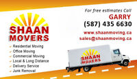SHAAN MOVERS - Professional - $69 hourly - 587 435 6630