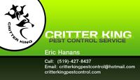 Critter King pest control