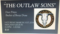 """OUTLAW SONS""  Country/Rock Band"