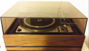 Vintage Dual 1228 Turntable Record Player Home Stereo