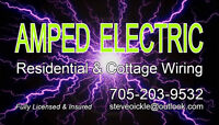 AMPED ELECTRIC - Residential/Cottage/Solar