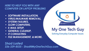 IT Support - Tech Support - Fix my Computer - Computer Support