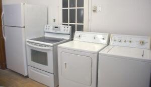 4 Électroménagers Kenmore - Réfrigérateur-cuisinière, laveuse-sé