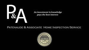 $180.00 Certified Home Inspection and Consulting Services