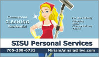 SISU Personal Services Transport & Other Service for the Elderly