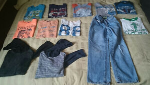 Various kid clothes