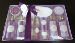 10 Piece Lavender Spa Set - Brand New