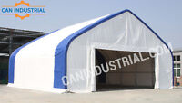 40x40x18 Portable Fabric Storage Building Tent - SPRING SALE ON