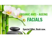 SPECIAL OFFER: ANTI - AGEING FACIALS for men and women